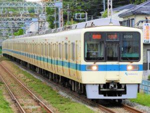 海老名駅から渋沢駅へ向かう小田急