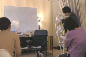 神奈川県の女性整体スクール3回目の講義